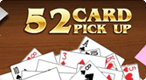 52 card pickup: Pick up cards as fast as you can in this Solitaire-style game.