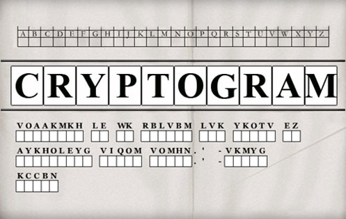 Cryptogram Cracker | Wordplays.com
