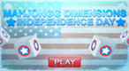 Independence Day Mahjongg Dimensions
