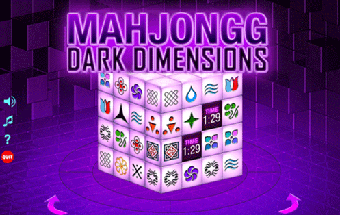 mahjong 3d dimension