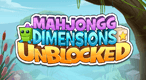 Mahjongg Dimensions Unblocked: Clear the puzzles and save the baby Cubies!