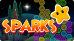 Sparks: Light up the sky with Sparks! Use your match-3 skills to set off Speed Chains, Super Sparks, and Mega-Bomb glory!