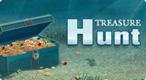 Treasure Hunt: Swap and match treasures in this strategy based game.